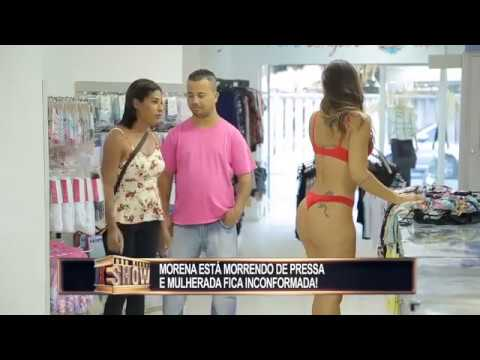 Brazilian Prank -  Girl Testing clothes in the middle of a store thumbnail