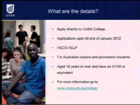 Foundation Studies & Diplomas  - Open Day 2011 - University of South Australia