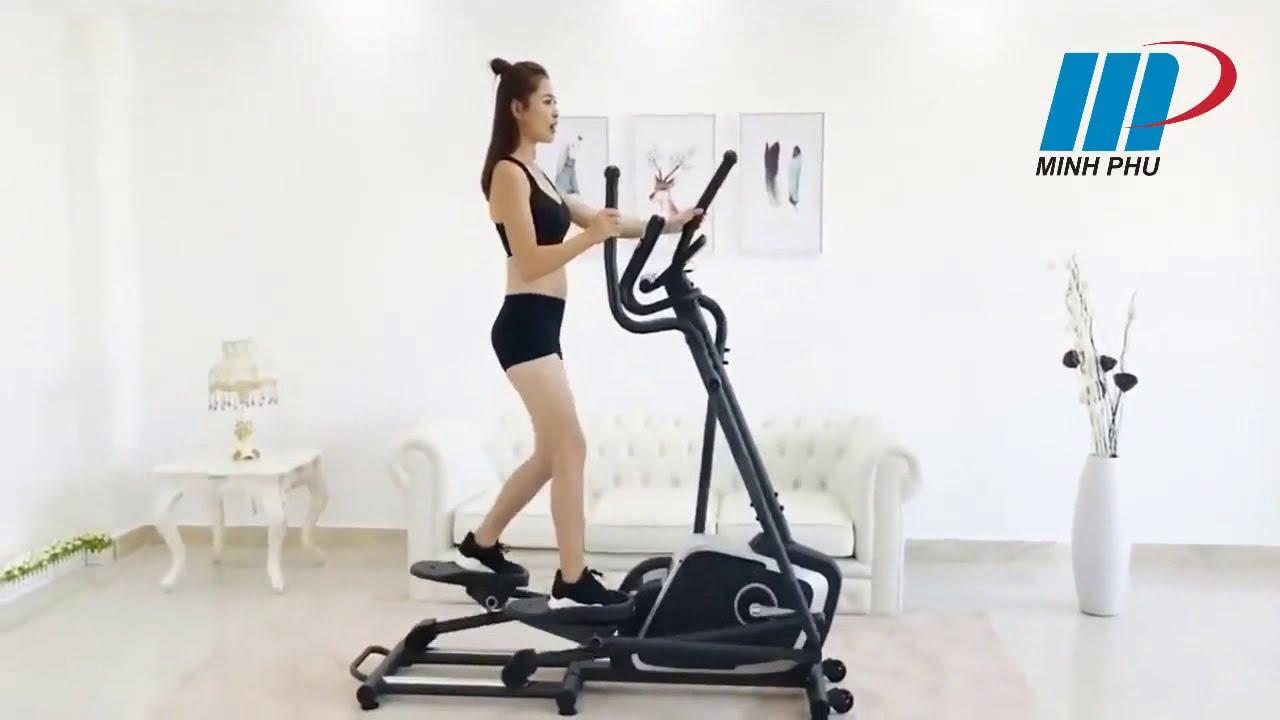 Xe đạp tập thể dục DLE-42811EH Giảm cân hiệu quả- Thể Thao Minh Phú