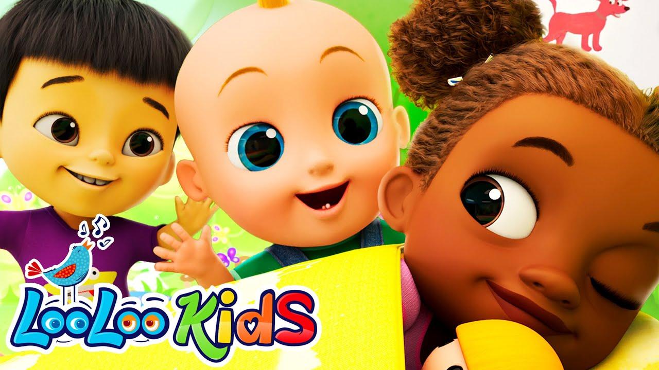 𝑵𝑬𝑾 Hop Little Bunnies Hop Hop Hop | Toddlers Songs | LooLoo Kids Nursery Rhymes