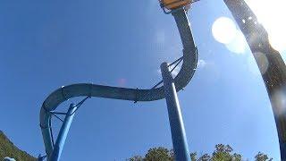 Blue Tube Water Slide at Ocean World