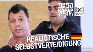 Realistische Selbstverteidigung im Straßenkampf mit Jon Kleineman (deutsch)