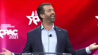 "Donald Trump Jr: ""They Want To Stop Us"" CPAC 2021 Speech"