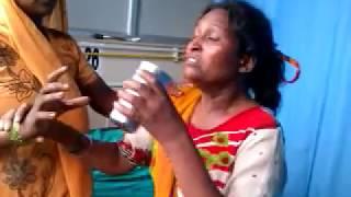 Hydrophobia in advanced Rabies Nepal