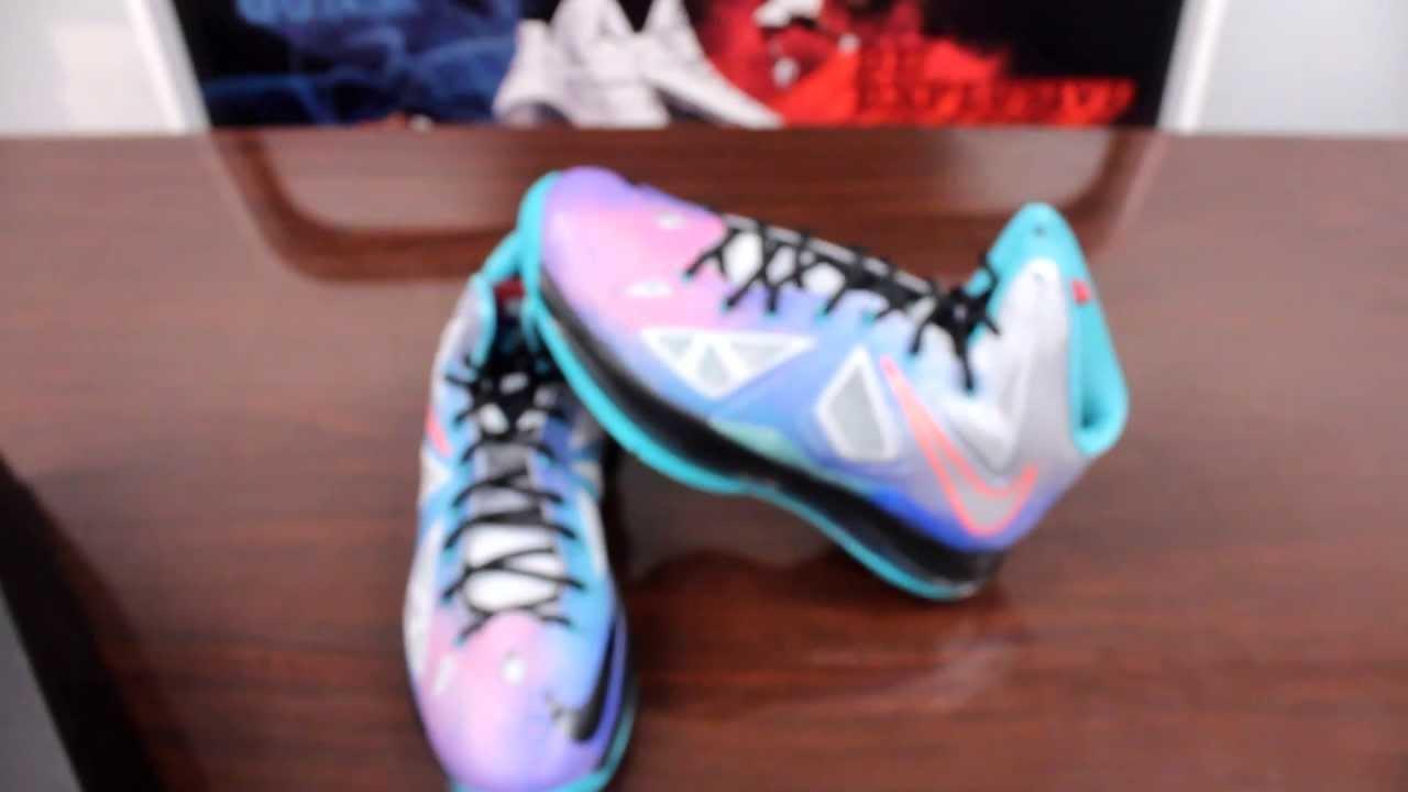 newest eedb7 1e27f Nike LeBron X Pure Platinum Review