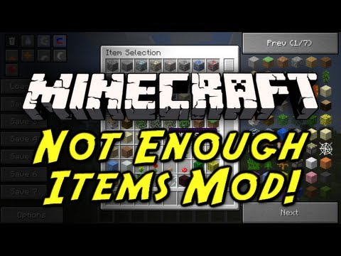 minecraft forge too many items