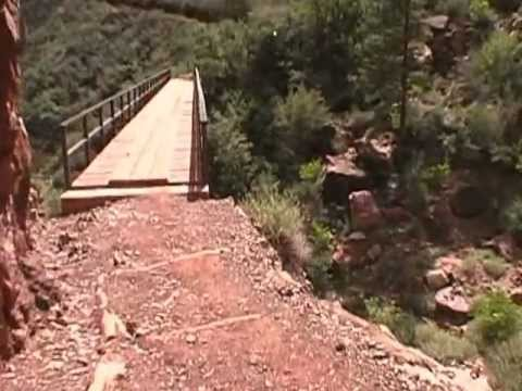 1 Grand Canyon MARATHON RUN on the North Kaibab and Bright Angel Trail, Part 1 of 5 Hour1NKBA5hrMyt