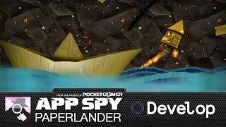 LITTLEBIG LUNAR LANDER | Paperlander preview from Develop 2015
