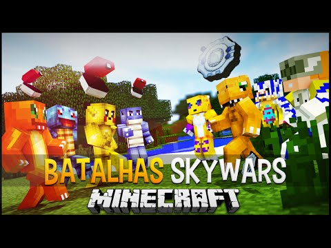 Minecraft: Pokémon Vs Digimon - Batalhas...