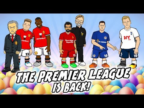 🥚🐣🐰⚽️THE PREMIER LEAGUE IS BACK!⚽️🐰🐣🥚