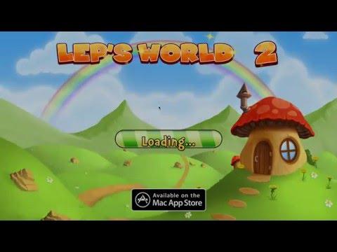 Lep's World 2 game play คล้ายๆ มาริโอ้