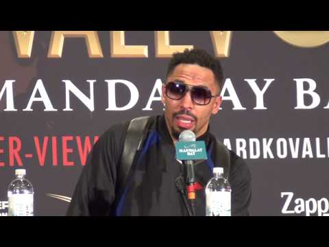 Andre Ward vs. Sergey Kovalev FULL bizarre post fight press conference