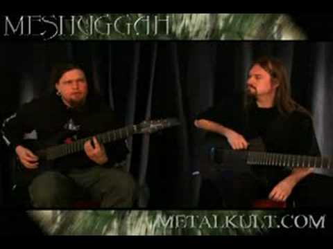 Meshuggah: Bleed Guitar World Lesson