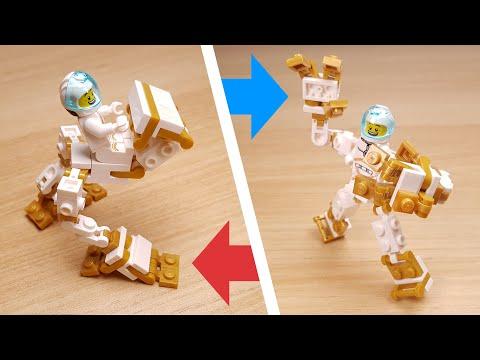 [LEGO Mini Robot Tutorial] Transformer Robot - Vehicle for mini figure