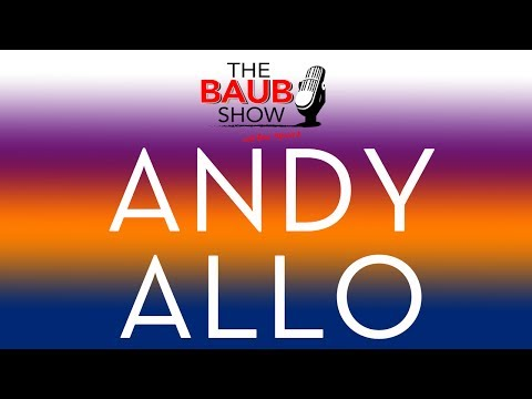 Andy Allo full interview live on The Baub Show