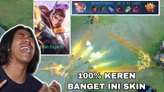 REVIEW SKIN LANCELOT BREN ESPORT - 100% INI SKIN KEREN BANGET COK AUTO MENGGILA!! - MOBILE LEGEND
