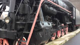 STEAM LOCOMOTIVE 1953 BUILT BY VOROSHILOVGRAD (RUSSIA)