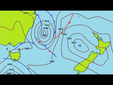 How to Read Weather Maps