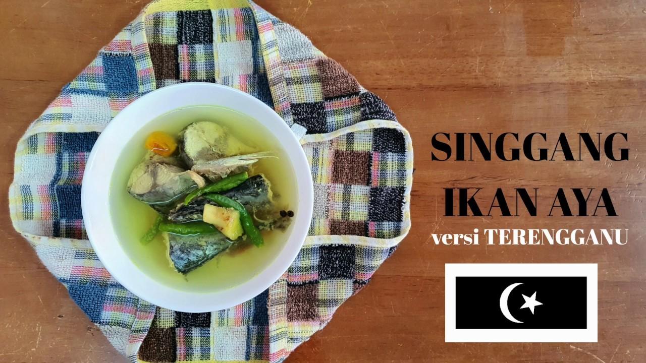 kuah singgang ikan ayatongkol versi terengganu simple  sedap resepi ibunda youtube Resepi Singgang Ikan Belanak Enak dan Mudah