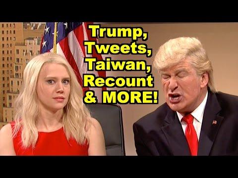 Trump, Tweets, Taiwan, Recount - Alec Baldwin, Jill Stein & MORE! LV Sunday LIVE Clip Roundup 189