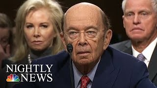 Wilbur Ross Latest Trump Official To Fall Under Scrutiny For Russia-Relations | NBC Nightly News