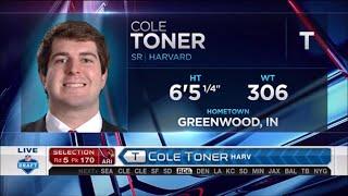 2016 NFL Draft Rd 5 Pk 170 | Arizona Cardinals Select OT Cole Toner