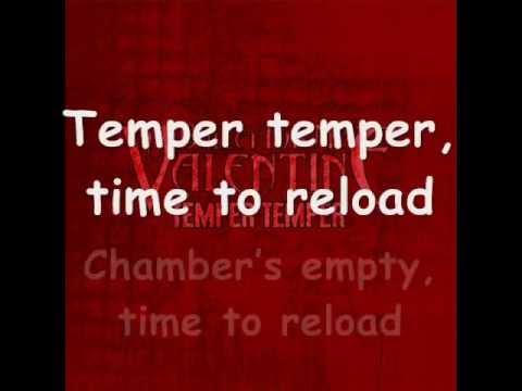 Bullet for my Valentine- Temper, Temper + LYRICS (NEW SONG 2012)