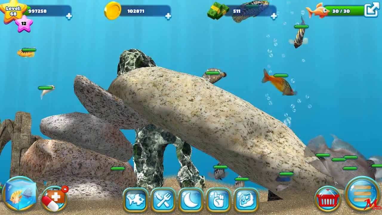 Fish farm 3 level 68 update 2 youtube for Fish farm 3