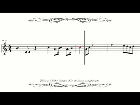 [Sheet Music] Russian National Anthem Патриотическая песня ロシア国歌