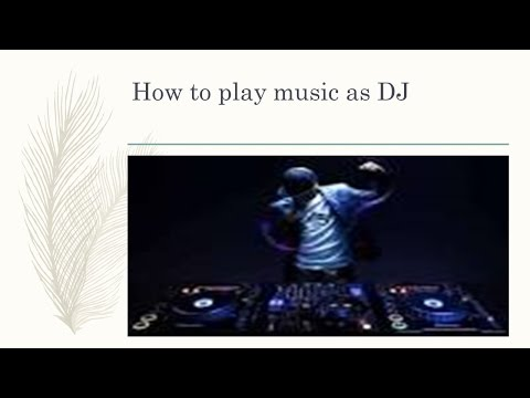 Copy of How to play mp3 in DJ Style