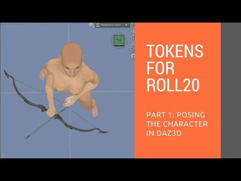 Creating a top down token for Roll20 - Online Tabletop