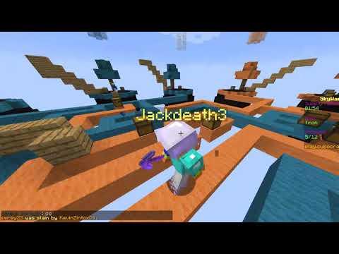 Hacker on Skywars (CubeCraft) Minecraft