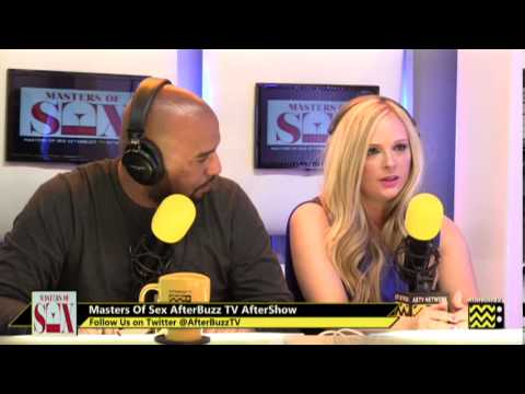 """Masters Of Sex After Show Season 1 Episode 11 """"Phallic Victories""""   AfterBuzz TV"""