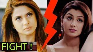 Jennifer Winget aka Maya's serious fight with Kkb lead actress Sriti Jha aka pragya  OMG!