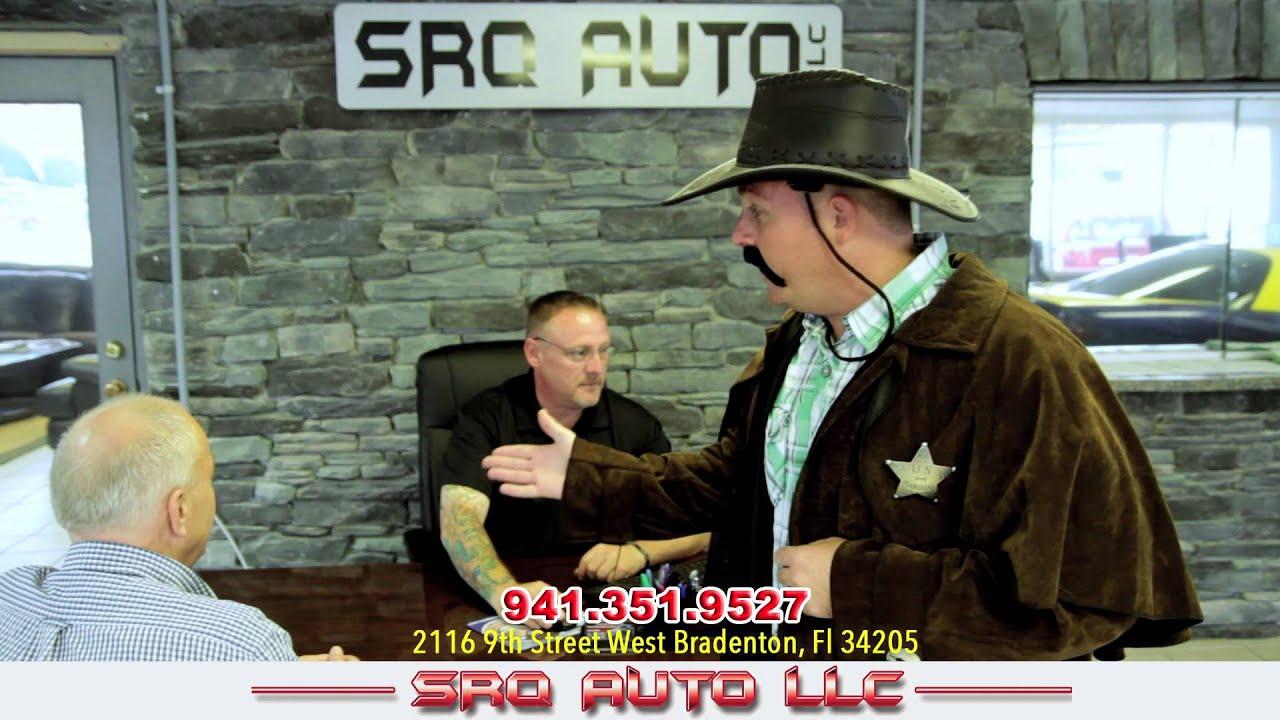 Srq auto bradenton bill cable commercial roof youtube for Srq motors bradenton fl