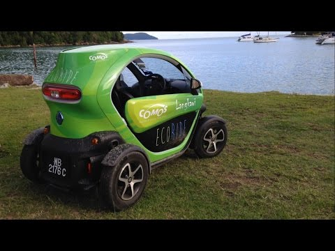 First Drive: 100% EV Renault Twizzy in Langkawi, Malaysia