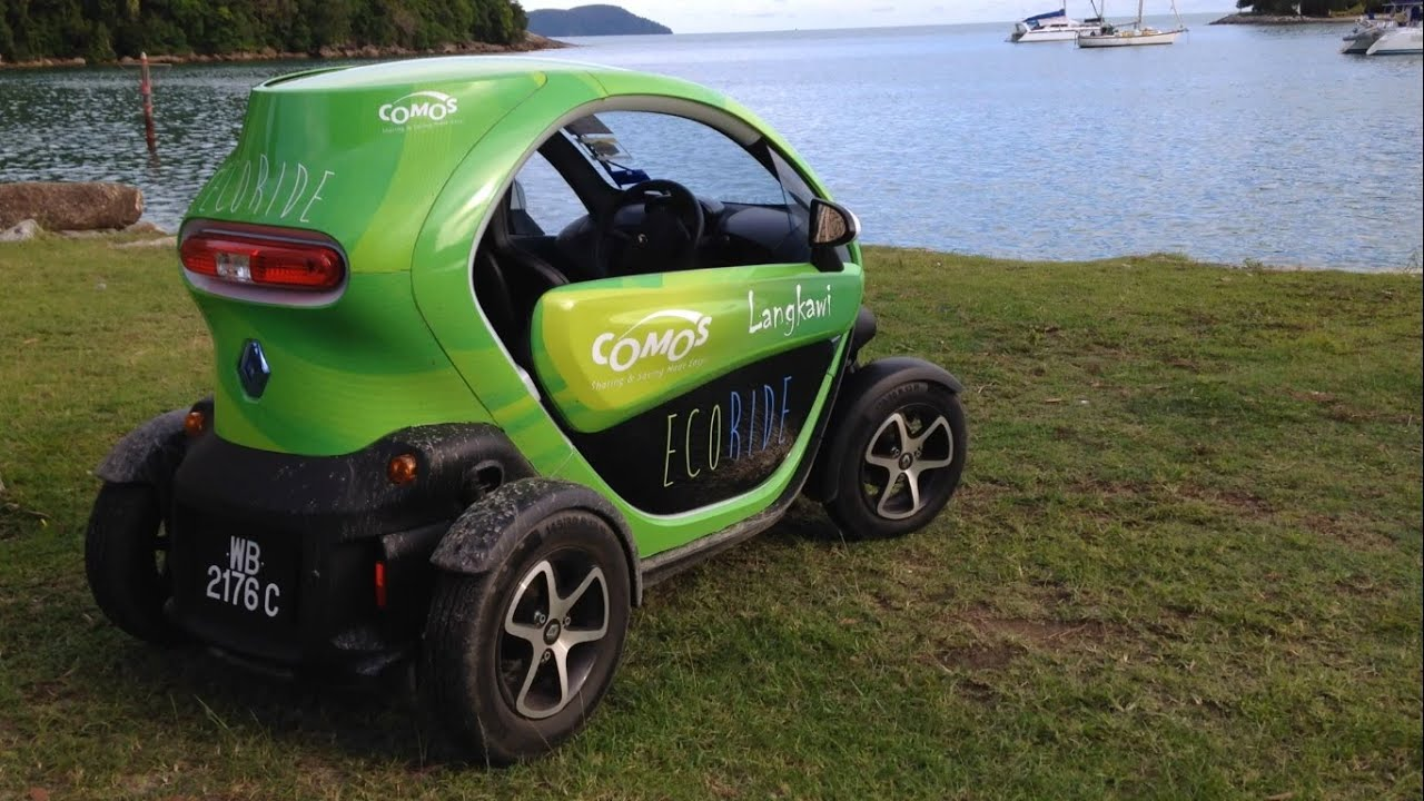 First Drive Ev Renault Twizzy In Langkawi Malaysia Youtube