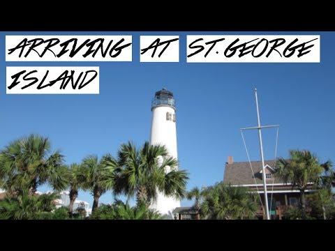 TRAVELING TO ST. GEORGE ISLAND, FL // BEACH VLOG DAY 1