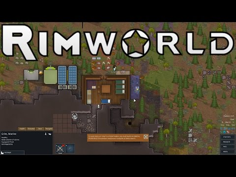 RimWorld Gameplay Test Drive! (Sci-Fi Colony Sim!)