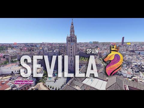 Sevilla - From the sky