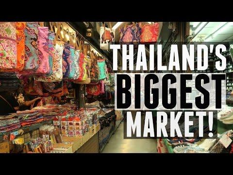 EXPLORING THAILAND'S BIGGEST MARKET! | CHATUCHAK