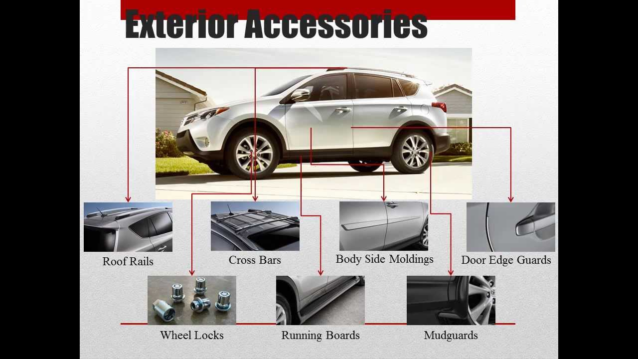 2013 Toyota Rav4 Accessories Youtube