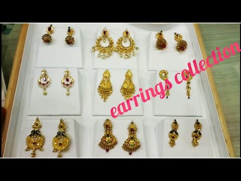 My New Gold Earrings Collections# Latest Gold Jewellery Collectionsll2019 New Earings Models