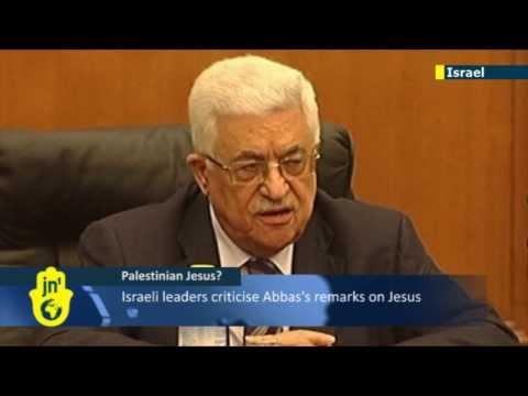Israeli leaders criticise Abbas's Palestinian Jesus remarks