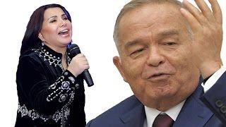 О, наследник Амира Тимура, падишах Ислам Каримов:  Юлдуз Усманова спела песню президенту Узбекистана