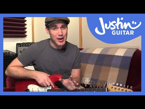 5' Guitar Exercise: Find Melodies You Know - JustinGuitar - Guitar Lesson [EX-101]