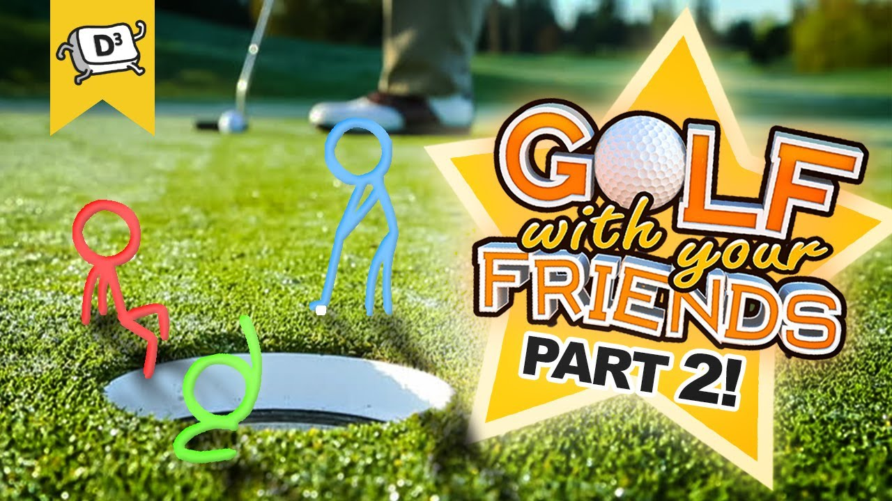 RAGING in Golf With Your Friends! | Golf With Your Friends Highlights and Funny Moments (Part 2!)