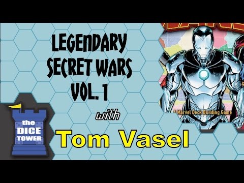Legendary: Secret Wars Vol. 1 Review - with Tom Vasel
