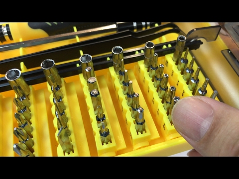 45 in 1 Professional Portable Compact Precision Screwdriver Kit Set by Jackly review