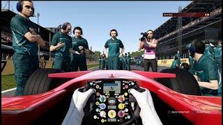 F1 2017 Classic Car Racing League Race Round 3   Ferrari F2007 at Italy
